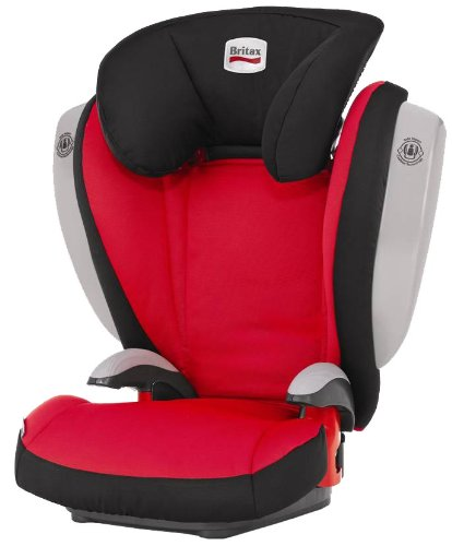 Britax Kid Plus with Side Impact Cushion Technology Group 2-3 Booster Seat (Olivia)