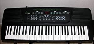 Elegance 61 Keys Electronic Keyboard