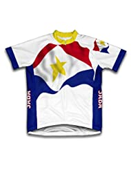 Saba Flag Short Sleeve Cycling Jersey for Women