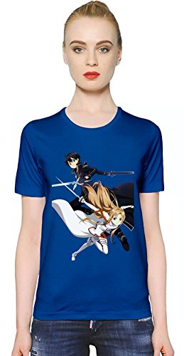 Sword Art Online Kirito And Asuna T-shirt donna Small