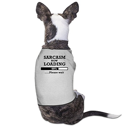 YRROWN Sarcasm Now Loading Dog Coats (Spirit Halloween Utah)