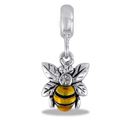Davinci Bead Dangle Bee - Jewelry Bracelet Memories Beads Db26-5-Dav front-1047867
