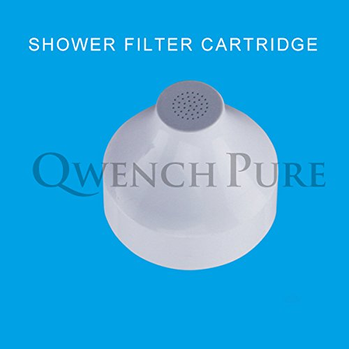 qwenchpure inline showerhead filter replacement cartridge 100 kdf hardware plumbing water. Black Bedroom Furniture Sets. Home Design Ideas