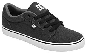 DC Mens Anvil TX Skateboarding Shoes D0320040 Dark Shadow 9 UK, 43 EU, 10 US