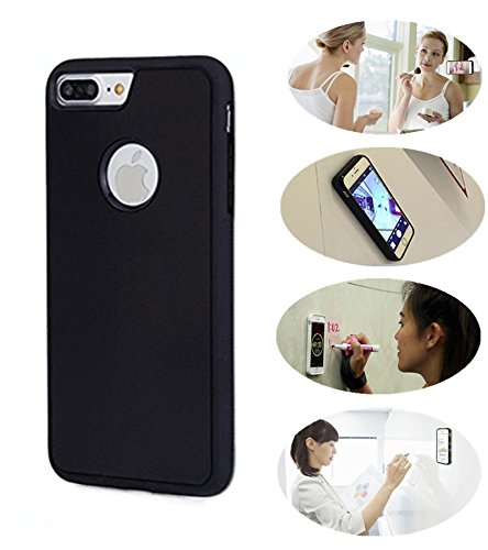 iPhone 7 Plus Case, [Anti-Gravity] Selfie Case Magical Nano Sticky Phone Case for iPhone 7 Plus 5.5inch