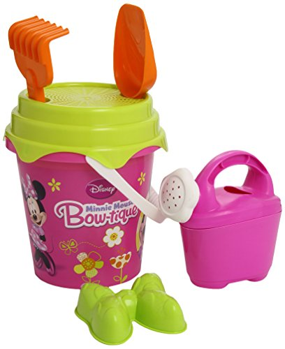 Mondo 18833 - Set da Spiaggia Minnie Bowtique Bucket Set