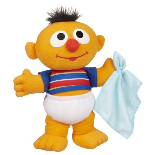 "Sesame Street - Bambino Ernie Peluche bambola naso che cola- 10"""
