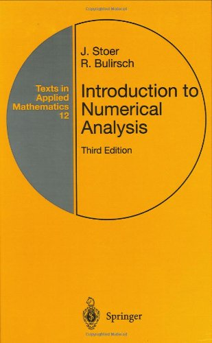 Introduction to Numerical Analysis (Texts in Applied...
