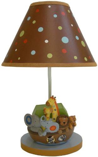 Lambs & Ivy Lamp w/Shade & Bulb - S.S. Noah