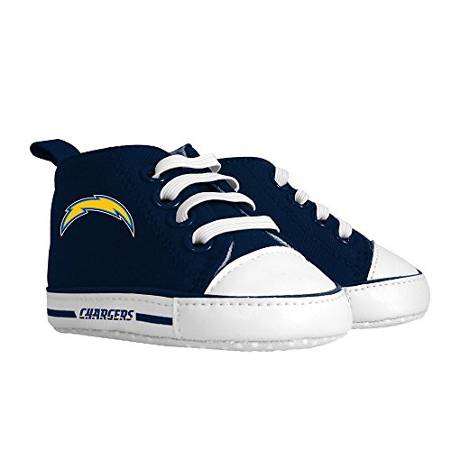 Baby Fanatic Pre-Walker Hightop, San Diego Chargers