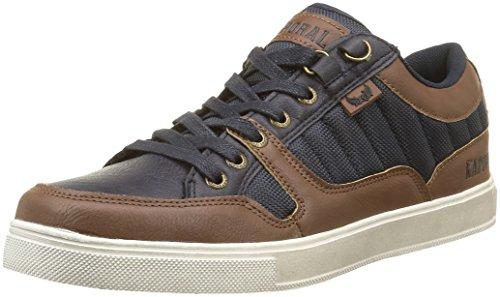 kaporal-herren-edy-sneaker-braun-marron-marron-marine-40-eu
