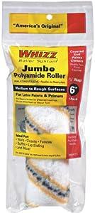 Work Tools International 60015 6-Inch Whizz Premium Jumbo Paint Roller Cover, Gold Stripe