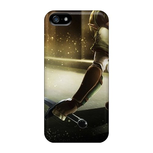Anne Marie Harrison Fashion Protective Link Shield The Legend Of Zelda Oracle Swords Case Cover For Iphone 5/5S front-833254