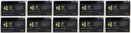 12V 7Ah Ups Battery For Best Technologies Patriot 600 - 10 Pack