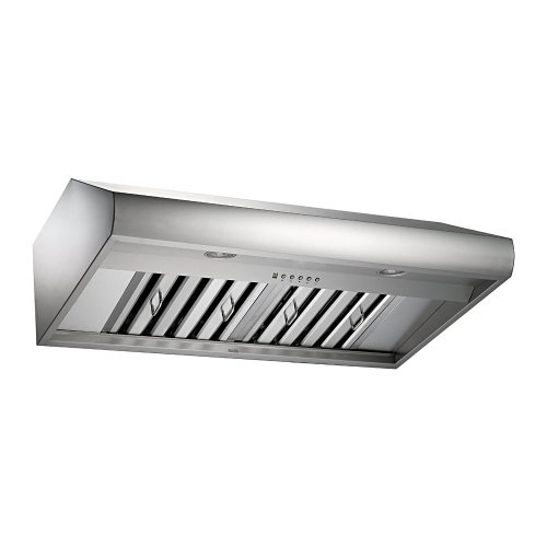 Contemporary Range Hood front-28013