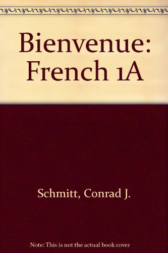 Bienvenue: French 1A PDF