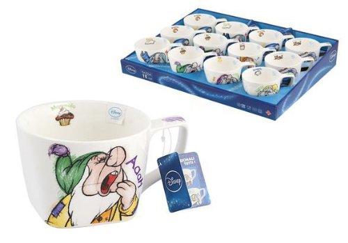 Tazza Da Te' Originale Disney Nani Al Risveglio Serie Nuova, Modelli Assortiti