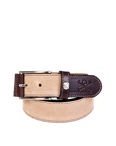 POLO CLUB CAPTAIN HORSE ACADEMY Cintura Pelle Stafforshire [Beige/Marrone]