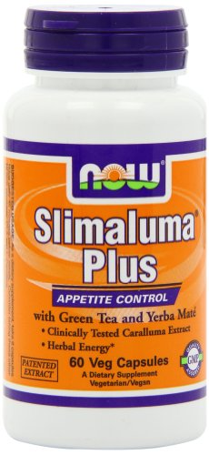 Now Foods Slimaluma Plus, Veg-Capsules, 60-Count