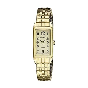 Seiko Women's SUP244 Expansion Analog Display Japanese Quartz Gold Watch