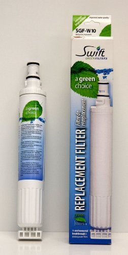 Sgf-W10 Kitchenaid Refrigerator Filter From Swift Green front-123277