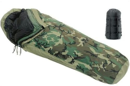 4 PIECE US MILITARY SLEEP SYSTEM WITH GORE-TEX