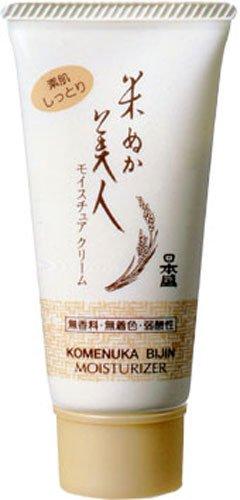 Komenuka Bijin All-Natural Moisture Cream with Rice Bran - sub-surface skin rejuvenation - 35g