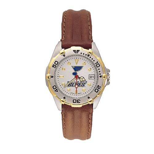 Logo Art Anderson Jewelry St. Louis Blues Women's All-star Leather Watch Womens