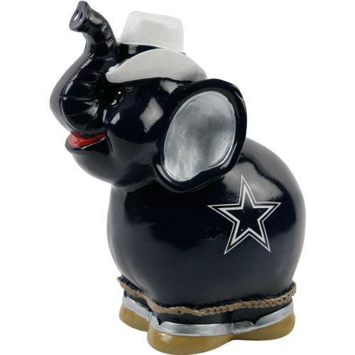 NFL Dallas Cowboys Thematic Elephant Piggy Bank