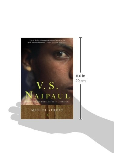 book report on miguel street Although a collection of short stories bound together in one book is seldom called a novel, miguel one book is seldom called a novel, miguel street by v s.