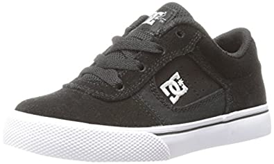 DC Cole Pro Skate Shoe (Toddler/Little Kid/Big Kid),Black/White,10.5 M US Little Kid