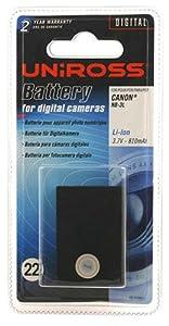 Uniross VB103841A Batterie pour appareil photo numérique 810 mAh 3,7 V