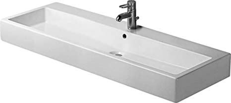 Vero Bathroom Sink Faucet Drillings: Three Hole