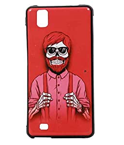 Hell Yeah Exclusive Rubberised Back Case Cover For Gionee Pioneer P2M