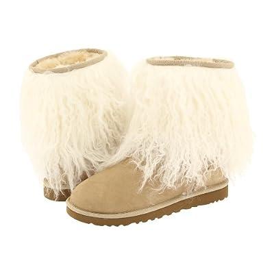 UGGS Sheepskin Cuff Boot Womens Sand Natural style