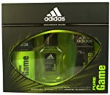 Adidas Pure Game Eau De Toilette 50ml Body Spray & Shower Gel Gift Set For Him