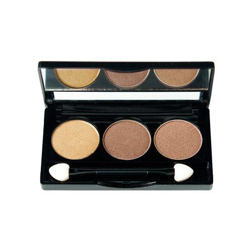 NYX Cosmetics Trio Eyeshadow Highlight/Brown/Suede