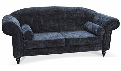 Sofa Mayra 2-Sitzer mit Wellenfedern Tischsofa Sitzsofa Couch 07029