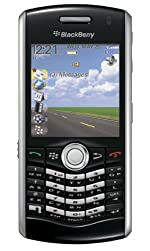Blackberry Pearl 8110 Unlocked GSM Phone with Blackberry OS, Half-QWERTY Keyboard, 2MP Camera, Video, GPS, Bluetooth, HTML Browser, MP3/MP4 Player and microSD Slot - Black