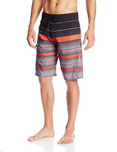 Billabong Men's All Day Shade Boardshorts, Neo Red, 33