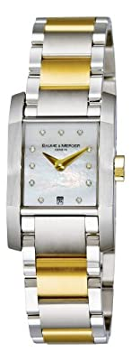 Baume & Mercier Women's 8738 Diamant Two Tone Watch