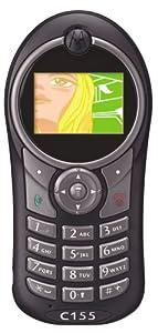 Motorola C155 Unlocked Cell Phone--U.S. Version with Warranty (Black)