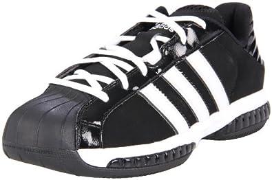 adidas Men's Superstar 3G Speed Basketball Shoe,Black/Running White/Metallic Silver,20 M US