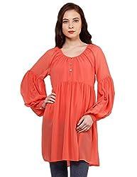 Oxolloxo Women orange stylish tunic