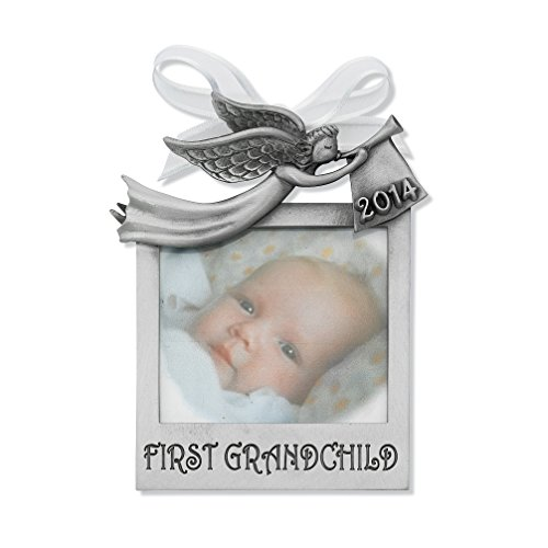 First Grandchild Photo Ornament 3\