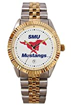 Southern Methodist Mustangs Suntime Mens Executive Watch - NCAA College Athletics
