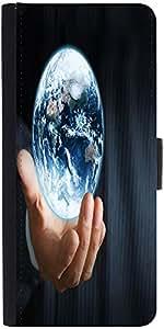 Snoogg Earth Globedesigner Protective Flip Case Cover For Google Nexus 6