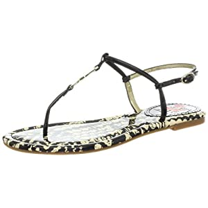 Circus by Sam Edelman Women's Jaela Thong Sandal,Black,7.5 M US