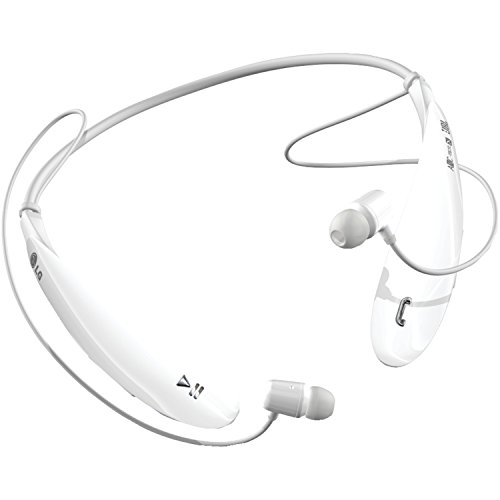 Click to buy LG Electronics Tone Ultra (HBS-800) Bluetooth Stereo Headset - Retail Packaging - White - From only $54.95