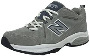 New Balance - Mens 608 Cushioning X-training Shoes, UK: 15.5 UK - Width D, Grey with White
